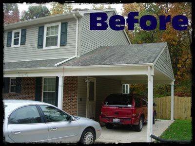 Garage door repair & restore realtors carport conversions