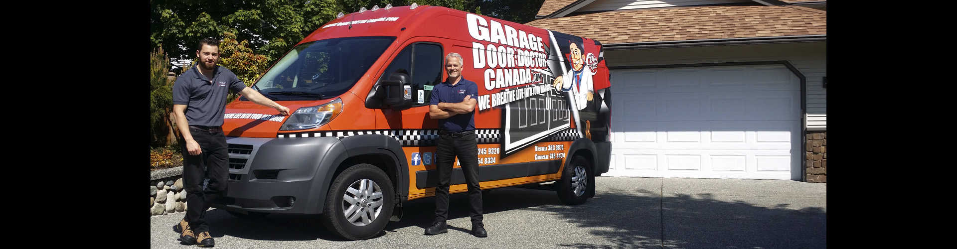 Garage Door Doctor Canada Repairs Openers Springs